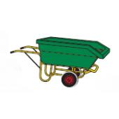 Chariot benne 450L