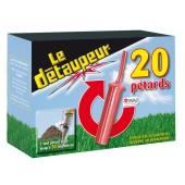 """Lot de 20 pétards pour """"Le Détaupeur'"""