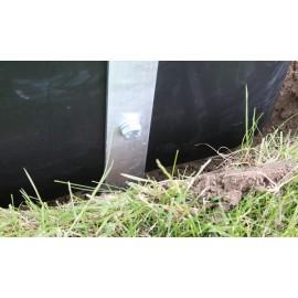 Kit verrouillage galvanisé pour barrière anti-racines