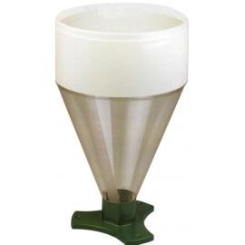 Pluviomètre professionnel avec socle