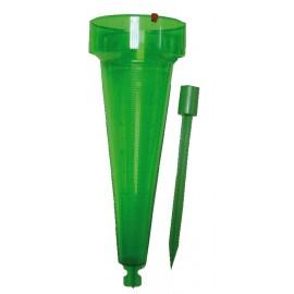 Pluviomètre semi-professionnel avec piquet