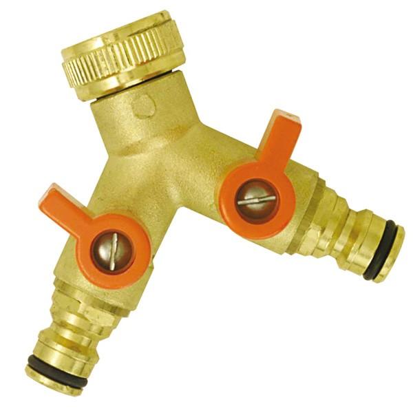Nez de robinet 2 circuits triangle outillage - Nez de robinet ...