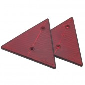 Lot de 2 triangles réflectorisants