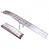 2 rampes pliables de déchargement aluminium