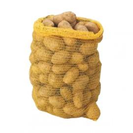 Sac-filet tricoté jaune