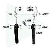 Contre-lame de rechange pour ARS VS8