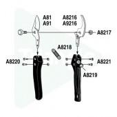 Contre-lame de rechange pour sécateur ARS VS9
