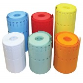Etiquettes à boucle PVC