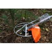 Protège-bordures et arbres pour débroussailleuse