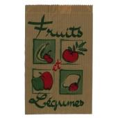 Sachets kraft pour pommes