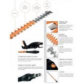 Taille haie électrique BAHCO BCL111