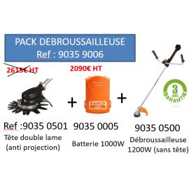 Pack débrousaillage électrique BAHCO