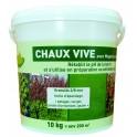 Chaux vive en seau de 10kg