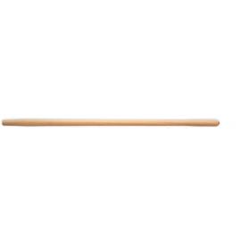 Manche droit en hêtre, douille ronde conique Ø 38mm. (type 4)
