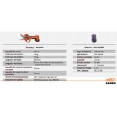 Sécateur sur batterie sans fil 16.8V Ø32mm
