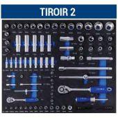 Servante IRIMO 6 tiroirs - 206 outils