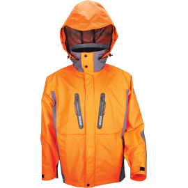 Veste déperlance et respirante orange