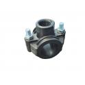 Collier de prise en charge pour tuyaux PE – 2 vis de serrage