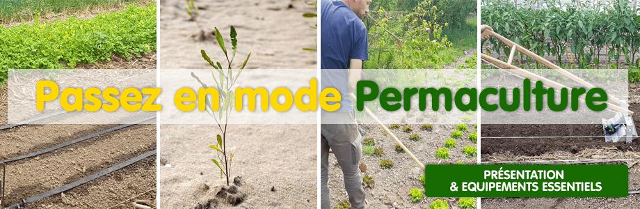 Savoirs, outillage et matériel pour la permaculture au jardin